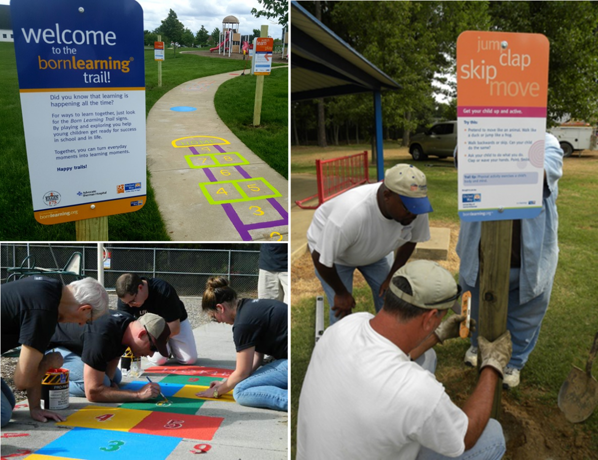 DAY OF ACTION: Volunteer for the Born Learning Trail