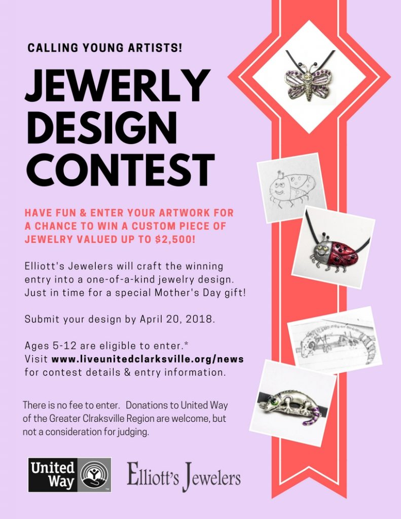 Young Artist Jewelry Design Contest – United Way of the