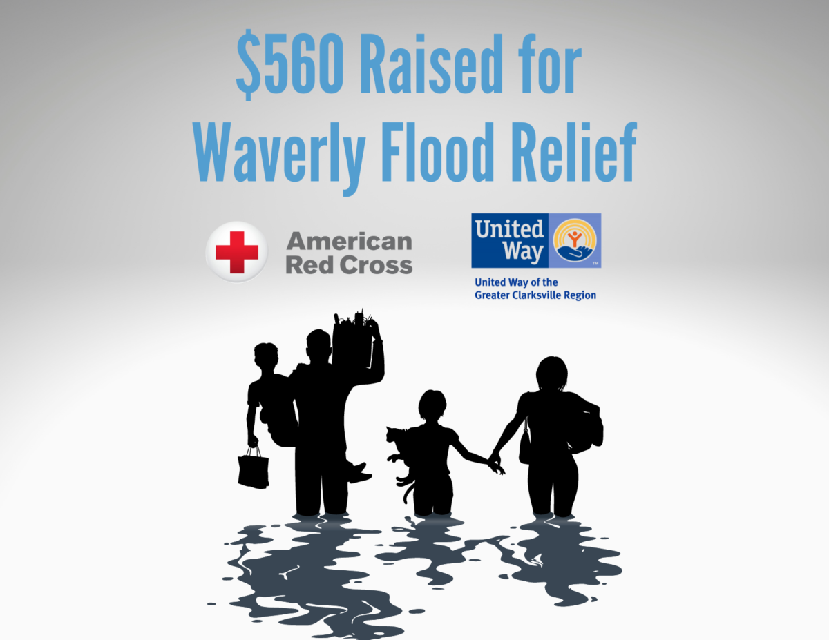 $560 Raised for Waverly Flood Relief